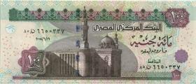 Ägypten / Egypt P.67i 100 Pounnds 2008 (1)