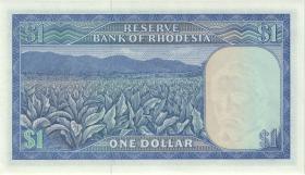 Rhodesien / Rhodesia P.34c 1 Dollar 18.4.1978 (1)