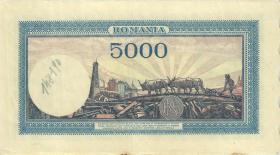 Rumänien / Romania P.056 5.000 Lei 10.10.1944 (2)