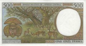 Zentral-Afrikanische-Staaten / Central African States P.201Eg 500 Francs 2000 Kamerun (1)