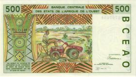 West-Afr.Staaten/West African States P.710Kc 500 Francs 1993 (1)
