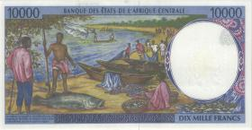 Zentral-Afrikanische-Staaten / Central African States P.205Ee 10000 Francs 1999 (1)