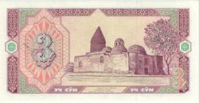 Usbekistan / Uzbekistan P.74r 3 Sum 1994 ZZ (1)
