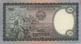 Mozambique P.112a 1000 Escudos 1972 (3)