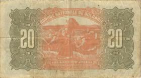 Bulgarien / Bulgaria P.036 20 Lewa 1922 (3)