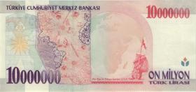 Türkei / Turkey P.214 10.000.000 Lira 1970 (1999) (1/1-)