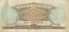 Kongo / Congo P.006 100 Francs 1.8.1964  (3)