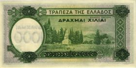Griechenland / Greece P.111 1000 Drachmen 1940 (1/1-)