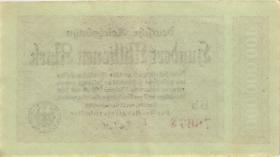 RVM-07 Reichsbahn Berlin 100 Millionen Mark 1923 (2)