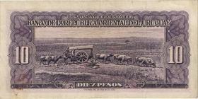 Uruguay P.37c 10 Pesos L. 1939 (3)