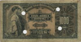 Tschechoslowakei / Czechoslovakia P.25s1 1000 Kronen 1932 SPECIMEN (4)