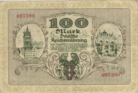 R.792: Danzig 100 Mark 1922 (3)
