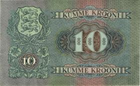 Estland / Estonia P.67a 10 Kronen 1937 (1/1-)