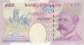 Großbritannien / Great Britain P.390b 20 Pfund (2004-) (1)
