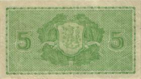 Finnland / Finland P.069 5 Markkaa 1939 (3)