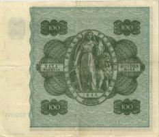 Finnland / Finland P.088 100 Markkaa 1945 (1948) (3+)