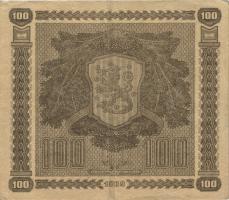 Finnland / Finland P.073 100 Markkaa 1939 C (3)
