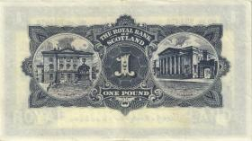 Schottland / Scotland P.324b 1 Pounds 1959 (3+)