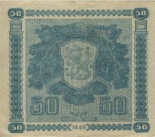 Finnland / Finland P.072 50 Markkaa 1939 (3+)