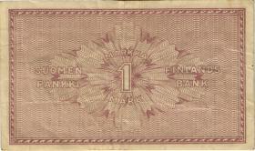 Finnland / Finland P.035 1 Markkaa 1918 (3)
