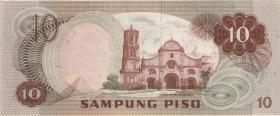 Philippinen / Philippines P.154 10 Piso o.D. (1)