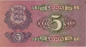 Estland / Estonia P.62a 5 Kronen 1929 (3)