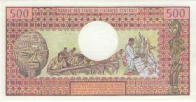 Zentralafrikanische Republik / Central African Republic P.009 500 Francs 1.7.1980 (1)