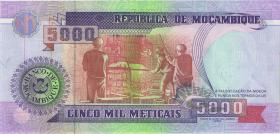 Mozambique P.136 5000 Meticais 1991 (1)