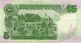 Malaysia P.35 5 Ringgit (1995) (3+)