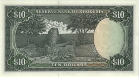 Rhodesien / Rhodesia P.33i 10 Dollar 3.12.1975 (1)