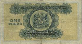 Schottland / Scotland P.S644 1 Pounds 1945 (3-)