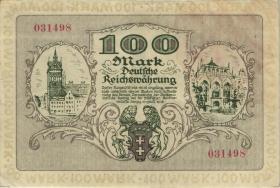 R.792: Danzig 100 Mark 1922 (2)