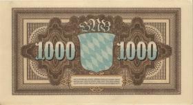 R-BAY 05b: 1000 Mark 1922 AA 5-stellig (1)
