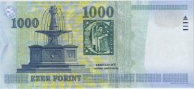 Ungarn / Hungary P.189c 1000 Forint 2004 (1)