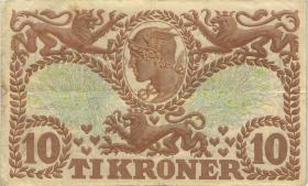 Dänemark / Denmark P.31o 10 Kroner 1935 U (3)