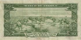 Angola P.088 50 Escudos 1956 (3+)