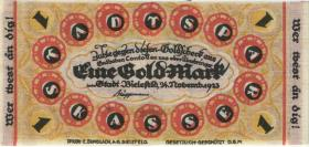 Bielefeld GP.52 1 Goldmark 1923 Leinen (1/1-)