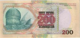 Kasachstan / Kazakhstan P.20a 200 Tenge 1999 (1)