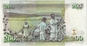 Kenia / Kenya P.43b 200 Shillings 2.8.2004 (1)