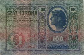 Österreich / Austria P.055 100 Kronen 1912 (1919) (1)