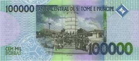 St. Thomas / Saint Thomas and Prince P.69c 100.000 Dobras 2013 (1)