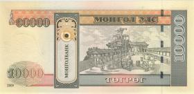 Mongolei / Mongolia P.69b 10000 Tugrik 2009 (1)