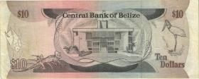 Belize P.48a 10 Dollars 1987 (3)
