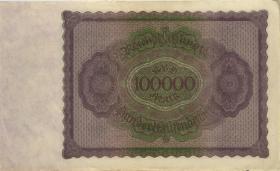 R.082b: 100.000 Mark 1923 T Nr.00000061 (2)