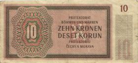 R.562a: Böhmen & Mähren 10 Kronen 1942 (4)