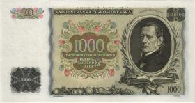 Tschechoslowakei / Czechoslovakia P.26s 1000 Kronen 1934 Specimen (1)