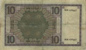 Niederlande / Netherlands P.043b 10 Gulden 11.4.1927 (4)