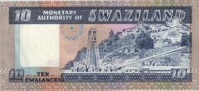 Swasiland / Swaziland P.04 10 Lilangeni (1974) (2)