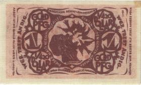 Bielefeld GP.45 1 Goldpfennig 1923 Leinen (1/1-)