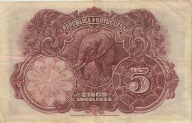 Angola P.066 5 Angolares 1926 (3+)